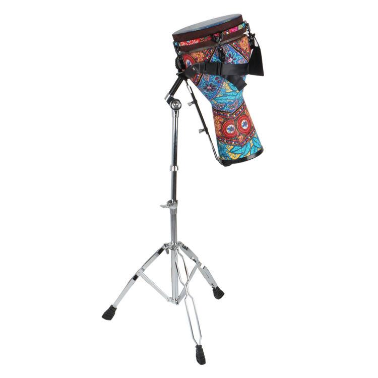 HEBIKUO instrumento musical G201F djembe soporte para 8/10/12 pulgadas África tambor soporte