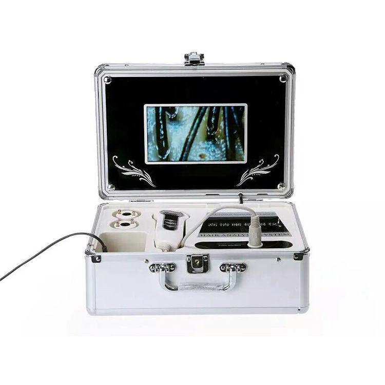 MY-S121 профессиональная портативная цифровая машина для тестирования кожи и волос