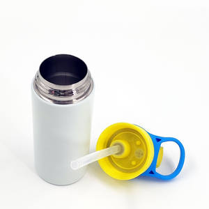Wholesale In Bulk Wholesale 350ml Stainless Steel Double Wall Vacuum Insulated Sublimation Blanks Kids Sippy Water Bottles In Bulk