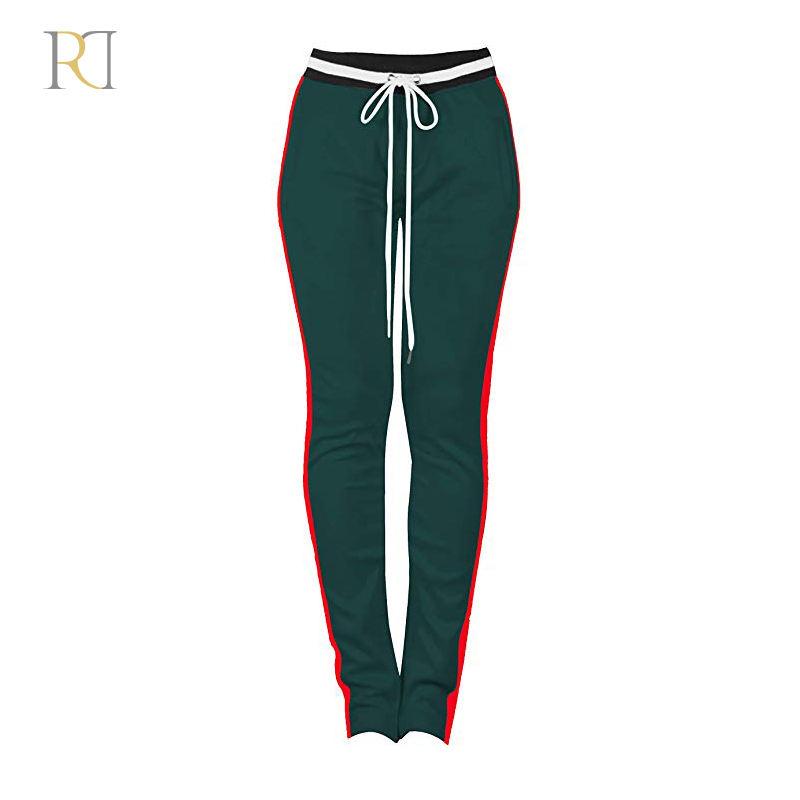Пользовательские Хлопок печатные Уличная мода женская одежда для бега Sweatpants