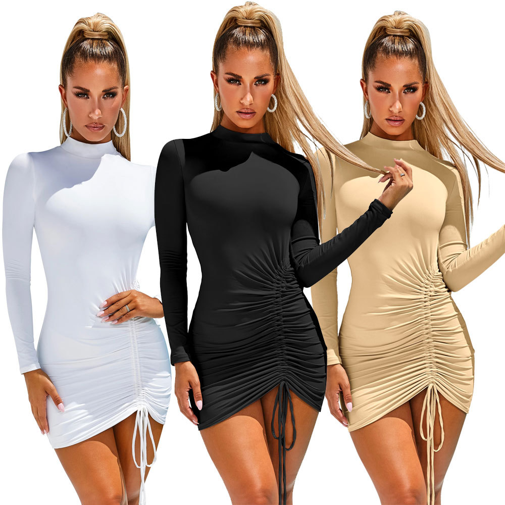 Mujer <span class=keywords><strong>fiesta</strong></span> noche Sexy <span class=keywords><strong>vestido</strong></span> Bodycon Mini <span class=keywords><strong>vestido</strong></span> <span class=keywords><strong>de</strong></span> las mujeres ropa <span class=keywords><strong>de</strong></span> manga larga O cuello <span class=keywords><strong>de</strong></span> encaje <span class=keywords><strong>vestido</strong></span>