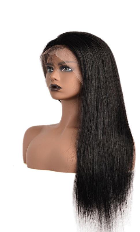 <span class=keywords><strong>Peluca</strong></span> frontal de encaje de proveedores de cabello para mujeres negras naturales de encaje suizo estilo largo sedoso onda recta