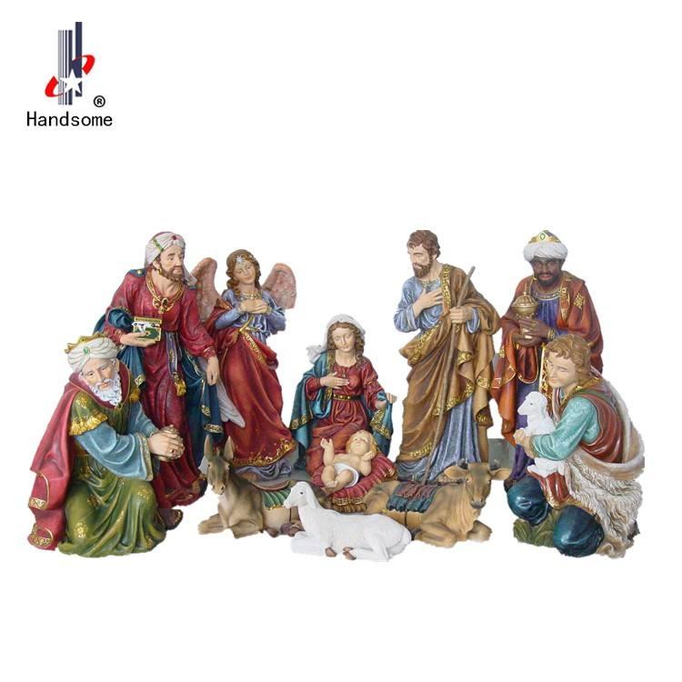 42 Inch Hot Selling Outdoor Christmas Nativity Set Christmas Crib
