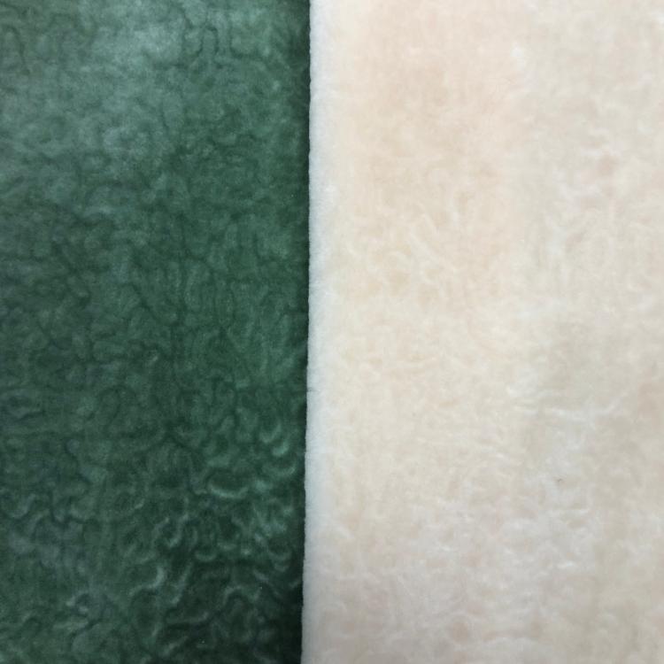 Kabartmalı taklit kürk yumuşak Boa peluş kumaş toptan yapay kürk konfeksiyon