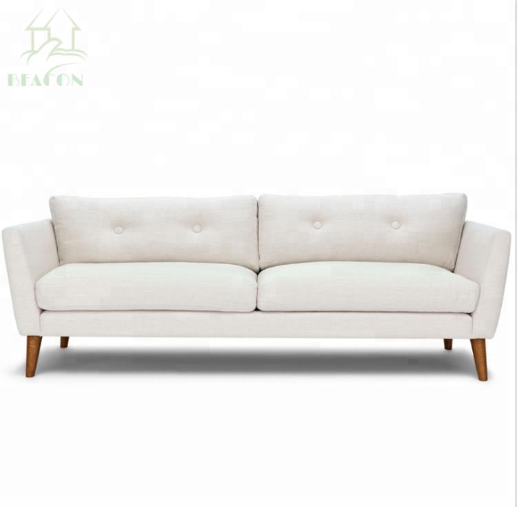 2 plazas sofá de la sala de muebles, Material de tela y sofá de la sala de uso específico de lujo sofá de la Sala