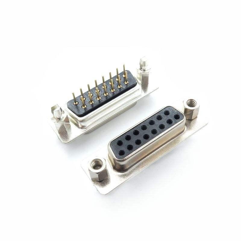VGA アダプタインタフェース DB15 スピネジ固定銛女性/男性 2 行 15 ピン DP15 VGA コネクタ