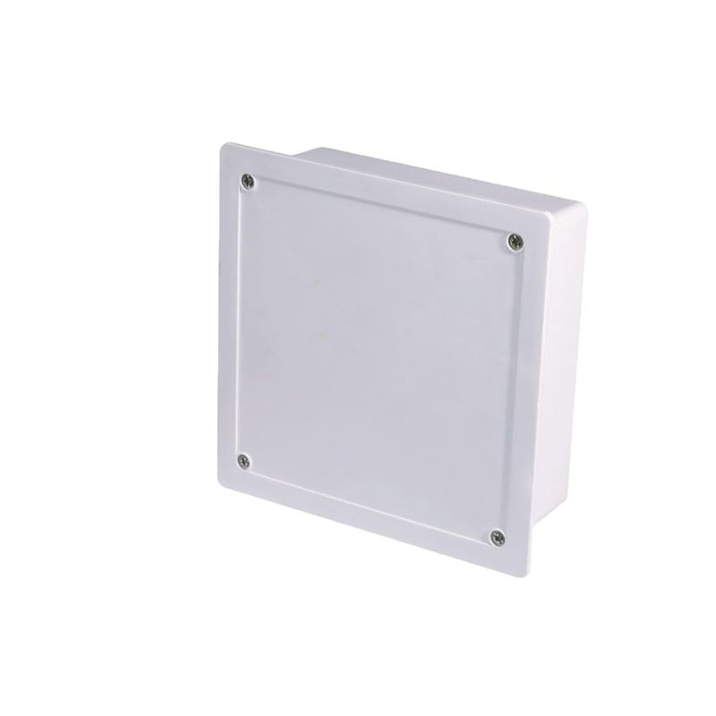 plastic boxes for electronics junction box cctv inserted style 230*230*80 mm plastic case for electronic device