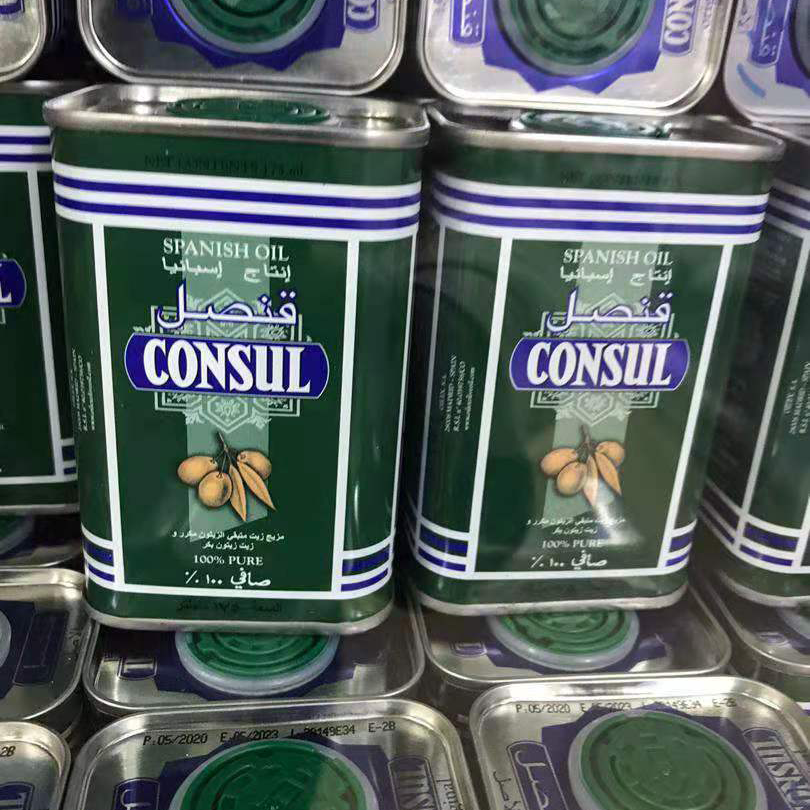 Wholesale High Quality Tinned Spanish 100% Extra Virgin Olive Oil