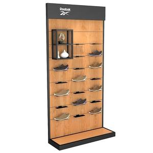 Professional customized Cheap retial multilayer stainless steel sports shoe display rack for shop