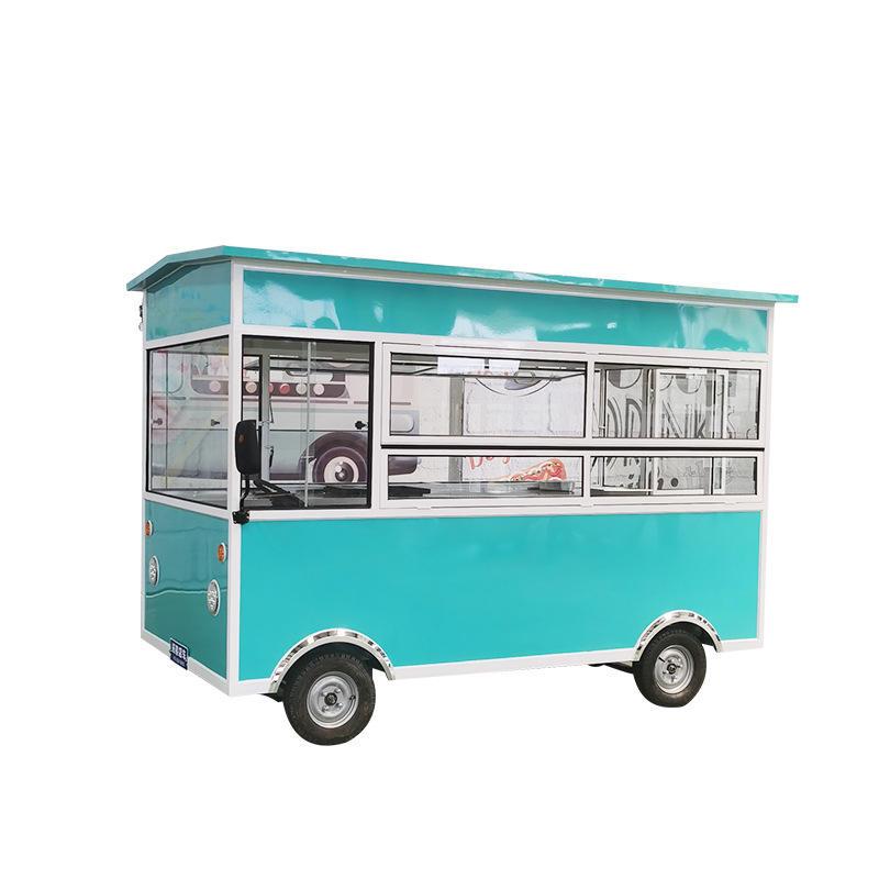 Прямая продажа с фабрики мобильный фургон для закусок, мульти-функциональное электрическое продуктовый фургон