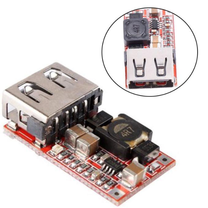 OEM/ODM DC-DC эффективность 97.5% DC-DC понижающий преобразователь модуль 6-24V 12 V/24 V до 5V 3A автомобильное USB зарядное устройство для мобильного телефона