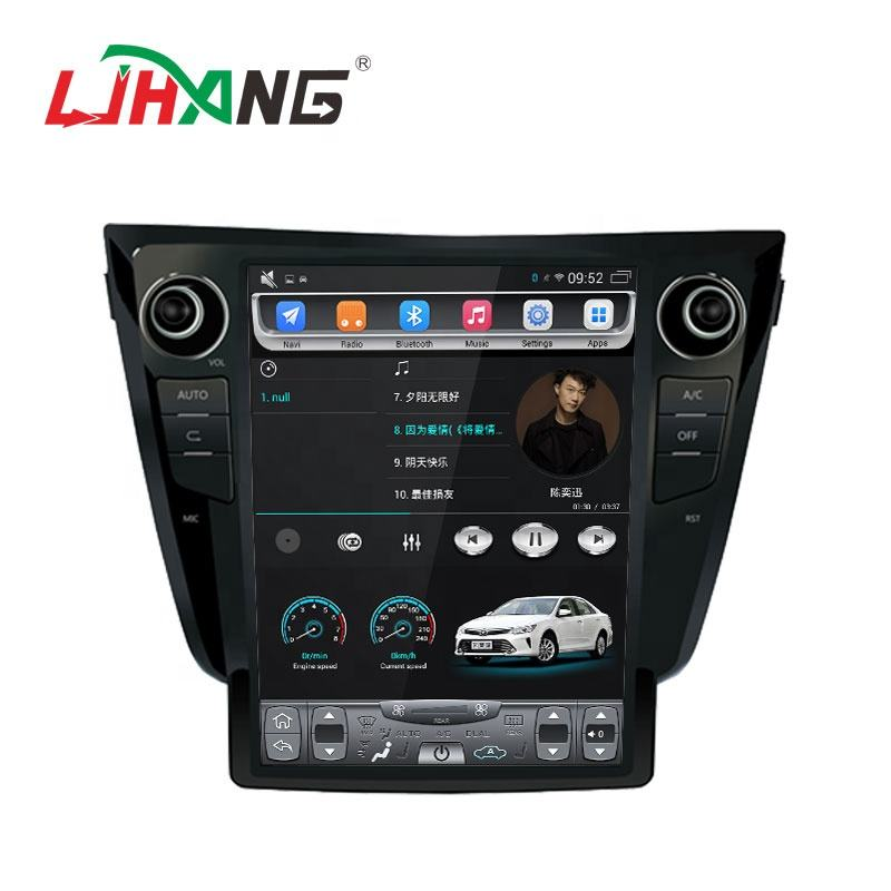 LJHANG Android 9.1 car multimedia system auto radio For Nissan X-TRAIL/Qashqai/Rouge 2013-2018 stereo dvd player gps navigation