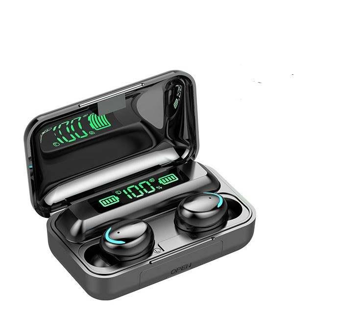 TWS F9 HIFI Tự Động Ghép Nối Kết Nối Nhanh Chóng Không Thấm Nước Ngân Hàng Điện Điều Khiển Cảm Ứng Earbuds Headphone