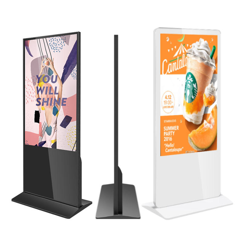 Refee Hot 43 Inch Lcd Media Player Floor Standing Digital Signage Menu Boards Lcd Advertising Display Wifi Lcd Screen Maker Ads