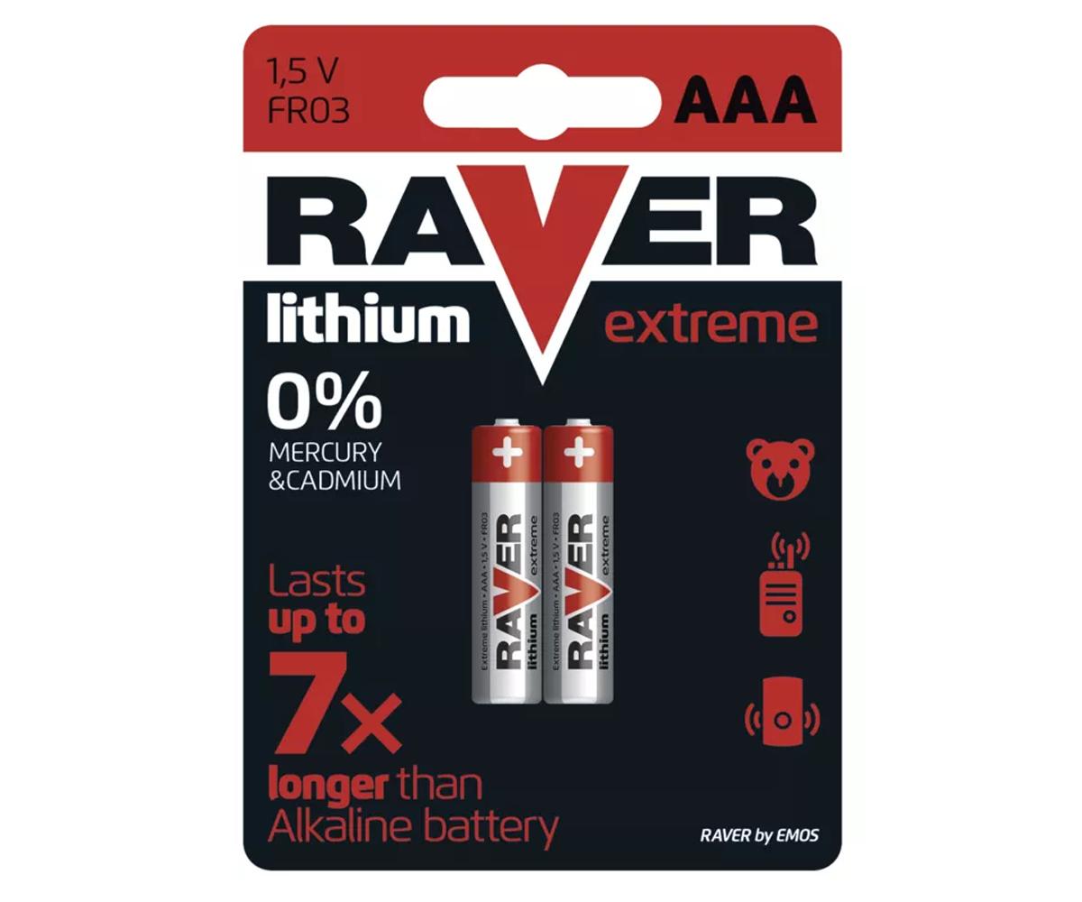 Cheap Price RAVER FR03 Lithium Battery