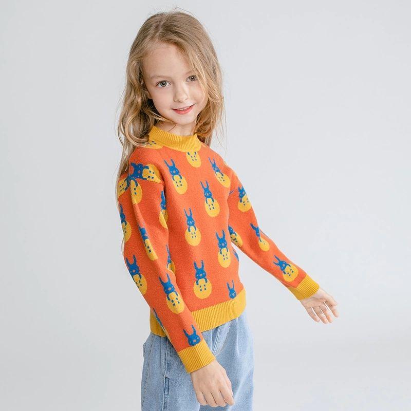 Оптовая продажа свитер с длинным рукавом детская одежда для зимы