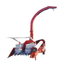 double rows silage harvester with good quality