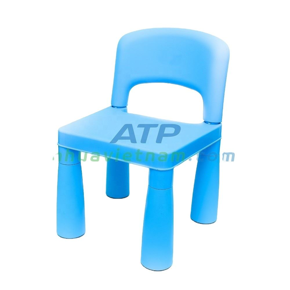 Adorable Kid Chair - Assembled and Lightweight Plastic Chair for Studying, Snacking and Homeschooling (11.8 x 11 x 17.7'')