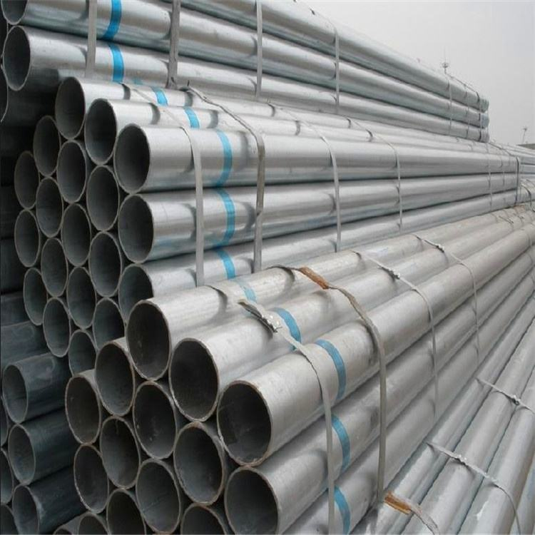 Venta caliente de yacimientos petrolíferos desarrollo corrugado galvanizado tubería de acero estructural