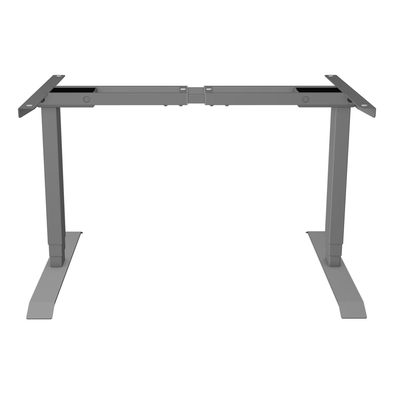 High Quality Using Various Two Legs Shape Rectangular Standing Large Height Desk Metal Frame Adjustable