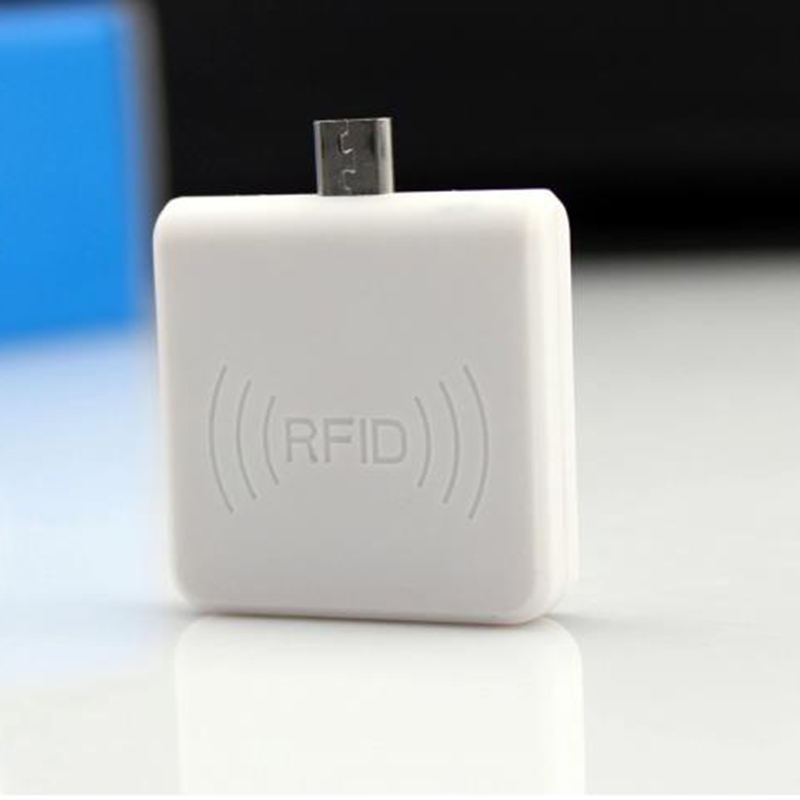 Micro- USB Interface 13.56Mhz IC Card Mini RFID Reader NFC Card Phone Reader for Android Cellphone