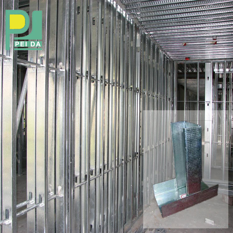 Drywall Steel Profiles Building Construction Materials Metal Profile Stud