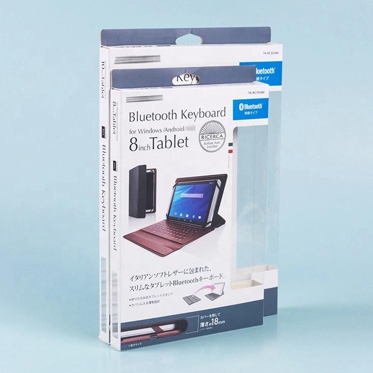 아름다운 접는 종이 포장 상자 노트북 애완 동물 창