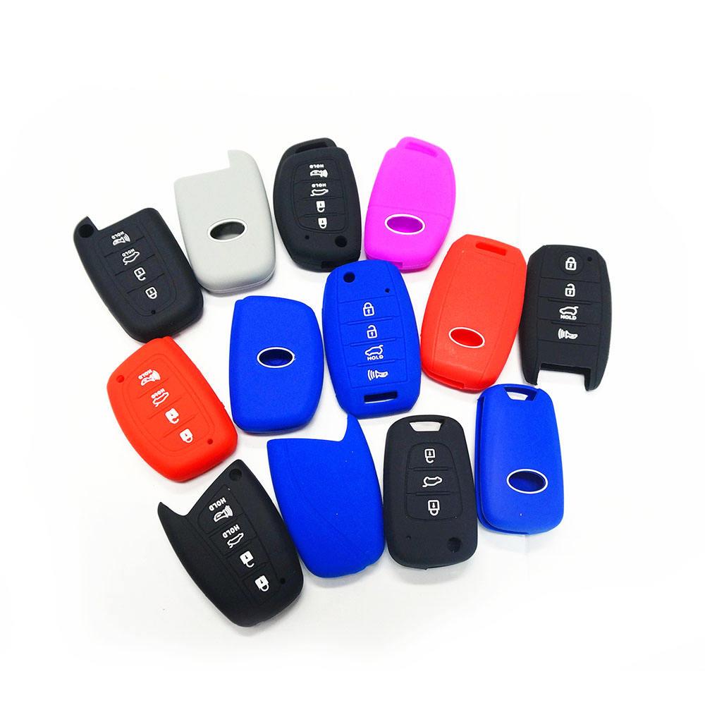 Силиконовый чехол для дистанционного ключа автомобиля с логотипом на заказ