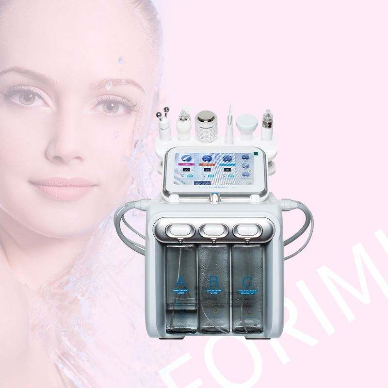 High Quality 3 Heads H2 water professional face korean salon machine super crystal skin care