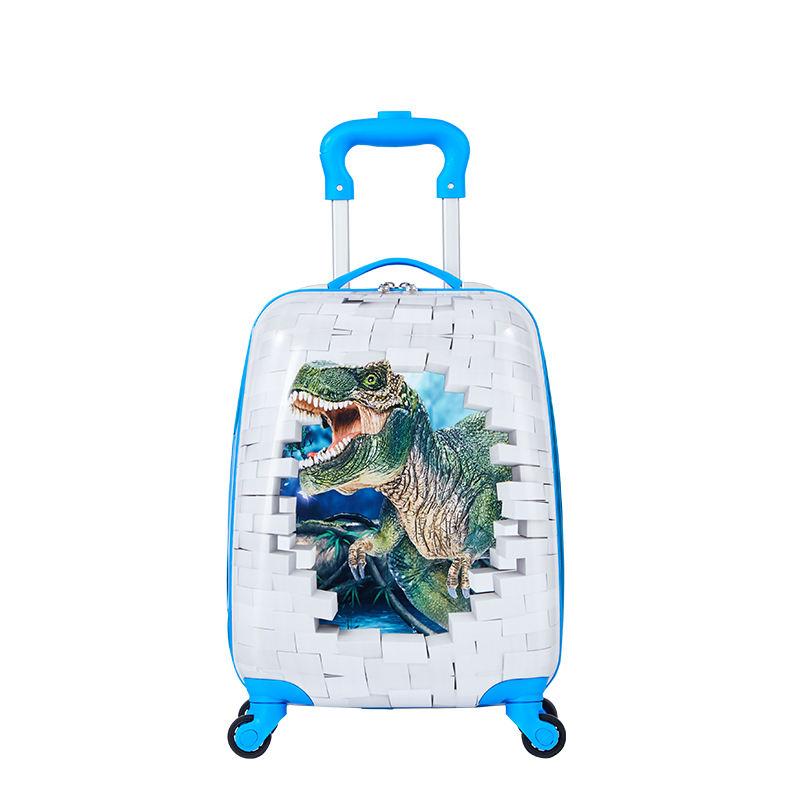 Chinois bleu enfants valises à roulettes carbone carryon top 5 marques de bagages
