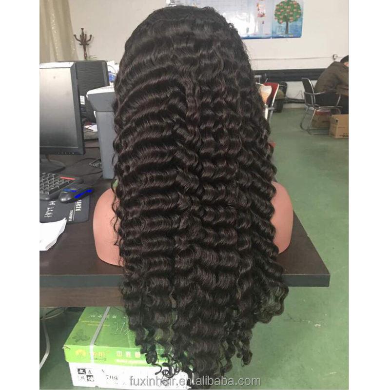 Color Natural muestras gratis yaki cabello humano largo remy suizo lleno pelucas de encaje