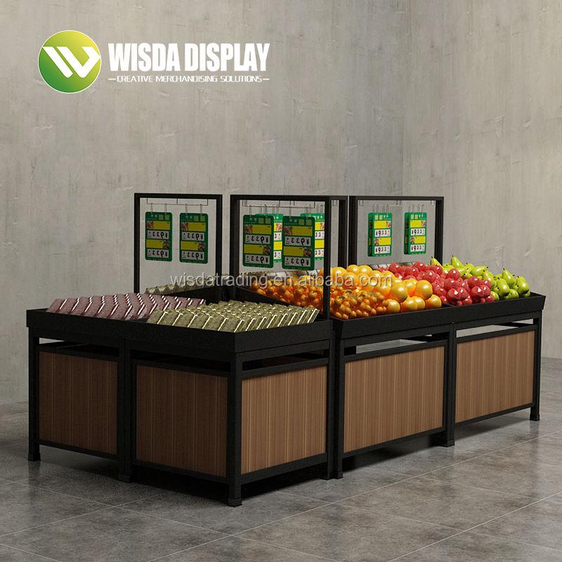 Offre Spéciale Haute Qualité en bois fruits légumes mart pour le magasin