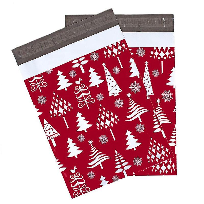 конструкция Хэллоуин Рождество пересылая сумка оптовая продажа переработанные <span class=keywords><strong>конверт</strong></span>ы черный поли Курьерская сумка