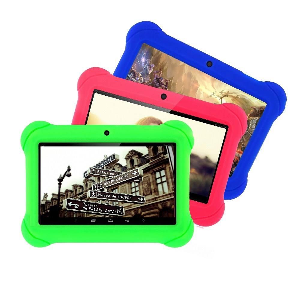 7 дюймов планшет для детей детский приложения Android 4,4 1 Гб оперативной памяти 16 Гб ROM WiFi четырехъядерный планшет