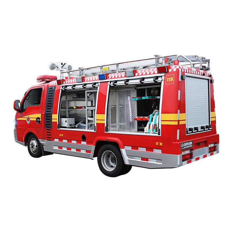 Горячая продажа Высокое качество алюминиевого сплава материал высокого давления воды туман пожаротушения грузовик цена