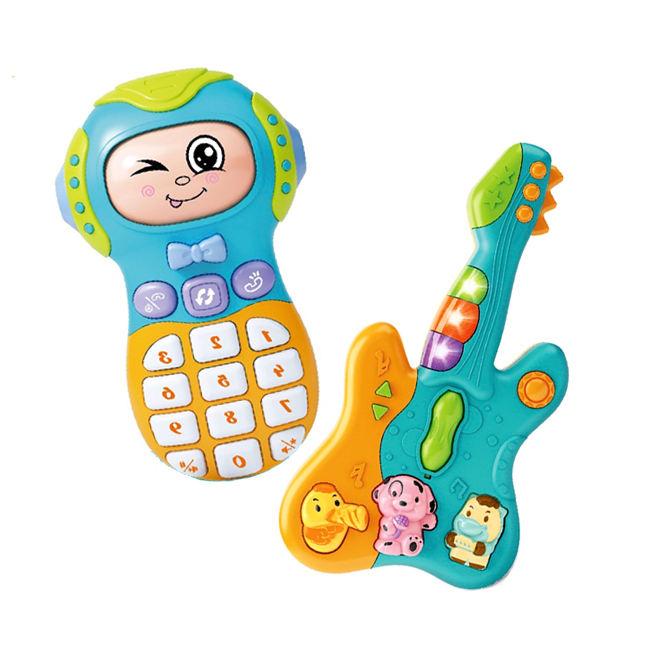 Los niños guitarra teléfono <span class=keywords><strong>móvil</strong></span> <span class=keywords><strong>juguete</strong></span> bebé juguetes musicales