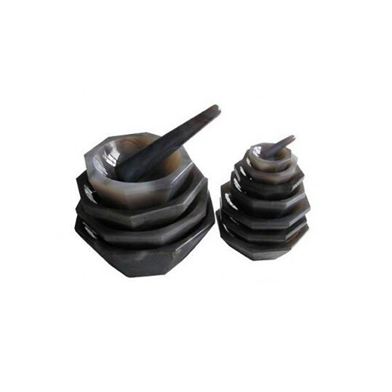 High-quality Laboratory Natural Agate Mortar And Pestle For Battery