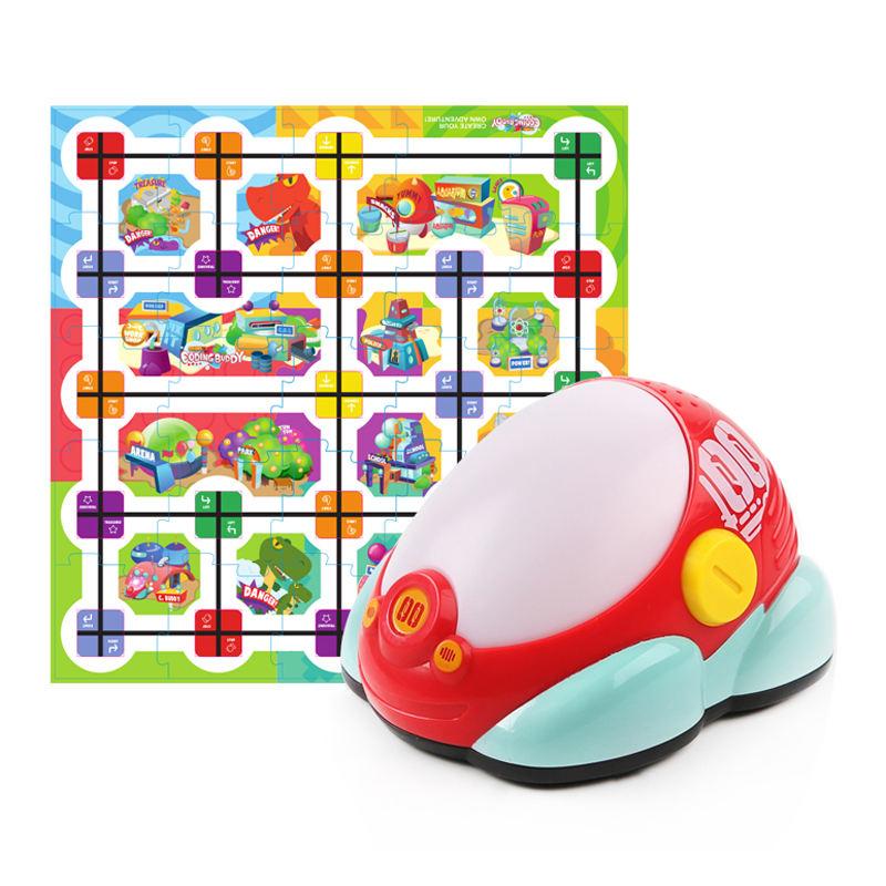 ألعاب الموسيقى للأطفال, ألعاب الموسيقى للأطفال ألعاب جذع سيارة روبوت تعلم التعليم مع بطاقة اللغز