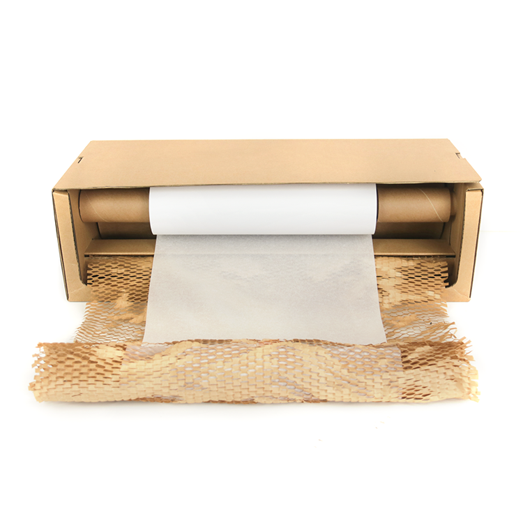 Новый Compostable упаковочный материал сотовая бумага амортизирующая упаковка