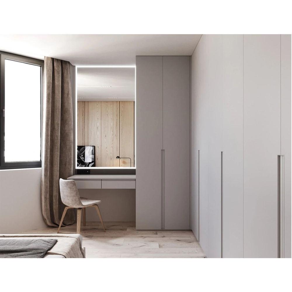 HS-W099 moderno muito barato armários de armazenamento clara adolescentes conjunto mobília do armário do quarto