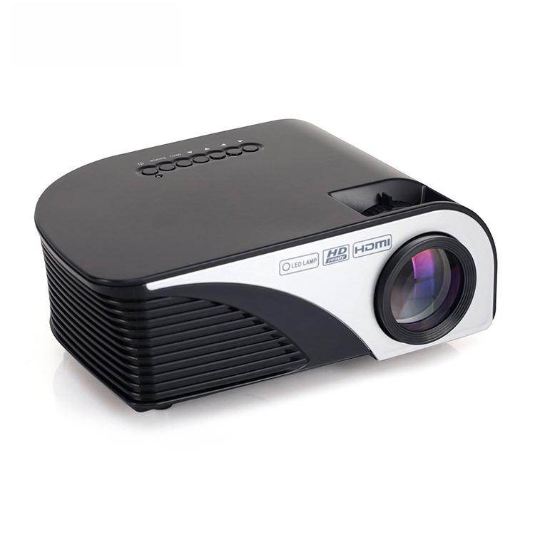 2019 Mini proyector de teléfono móvil 1080 P full hd 3d wifi pico Proyector película TV casa teatro barato proyector Beamer