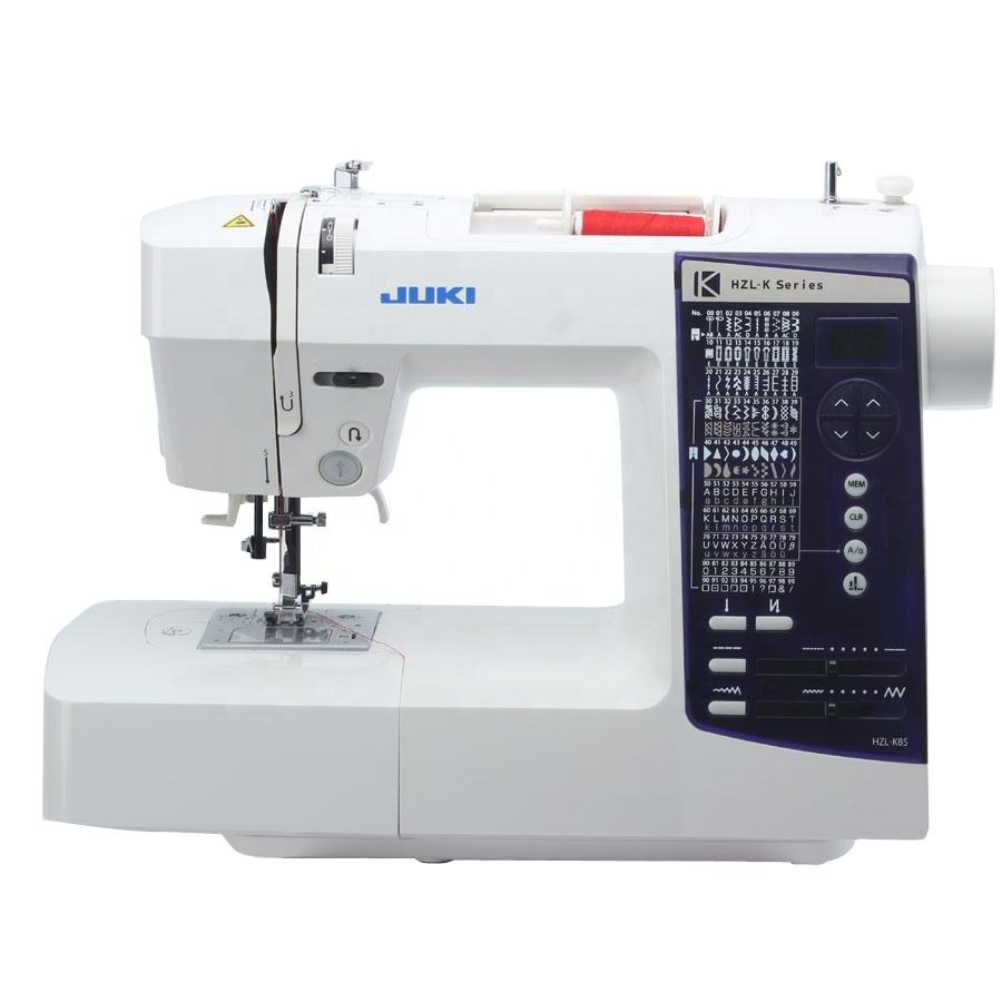 JUKIS HZL K85 brother household embroidery mini overlock laminator industrial Apparel Machinery electric Sewing Machines