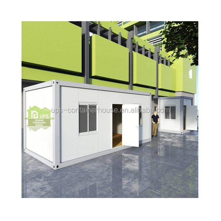 2020低コスト中国プレハブ住宅1ピース20フィートコンテナーホームフル家具