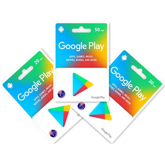 Google Play 50AUD Gift Card For AUS fast delivery