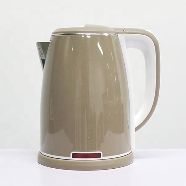2020 hot sale home electronics kitchen appliances water boiling Double wall 2 Layers Anti-scald PP SS Electric Kettle coffee