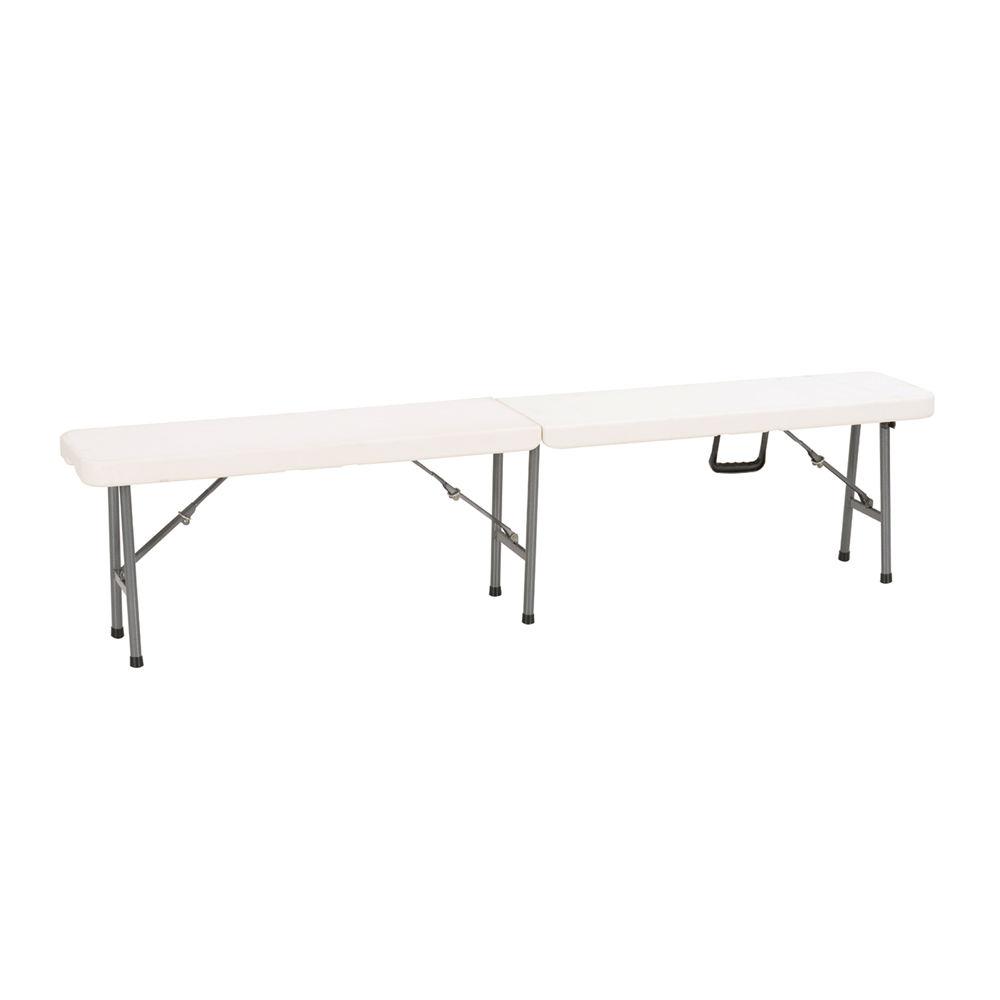 卸売正方形軽量ロングホワイトポータブル屋外テーマパーティープラスチック折りたたみテーブル