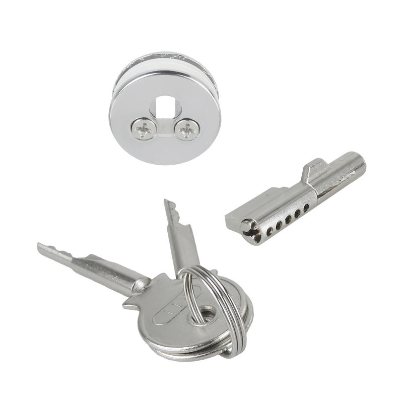 Glass Showcase Cabinet Lock for Sliding Glass Door Cupboard Display Case Glass Door Lock Cylinder Keyed alike