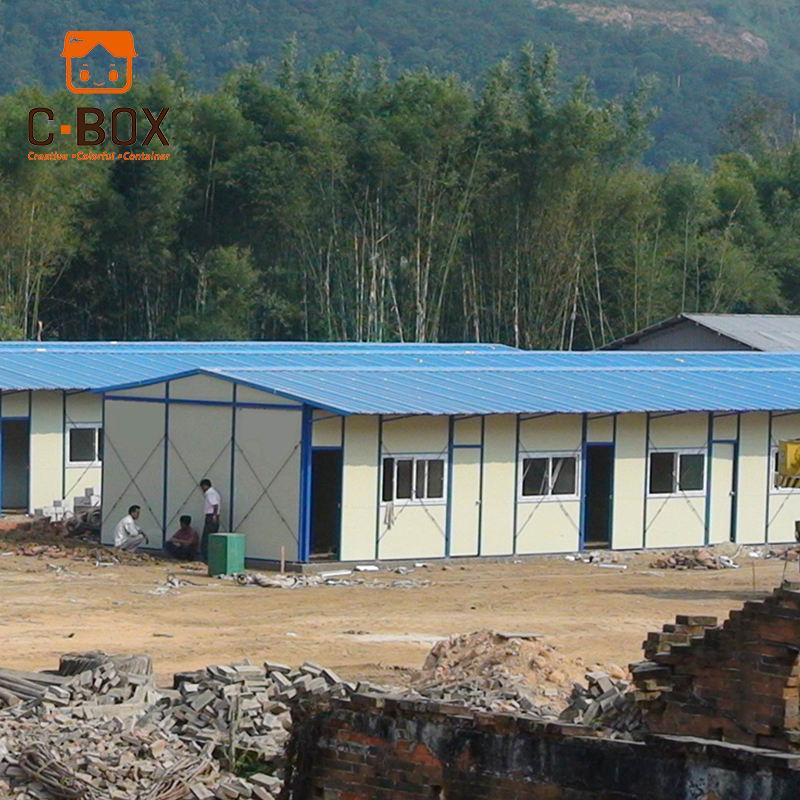 La construcción en el sitio edificio prefabricado casa rápidamente <span class=keywords><strong>construir</strong></span> prefabricada de tipo k de la casa contenedor