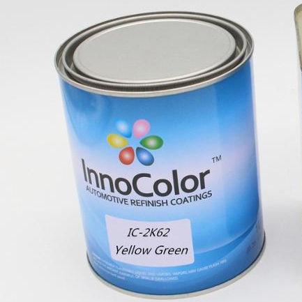 InnoColor 자동차 Refinish 페인트 2K 탑 코트 투명 블루