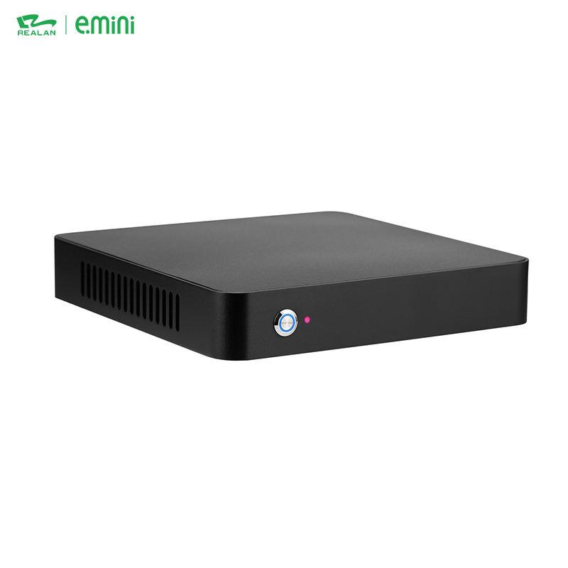 Chine En Aluminium <span class=keywords><strong>Portable</strong></span> Intel i5 6200U Mini Ventilateur PC Ordinateur Barebone